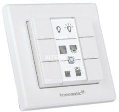 EQ-3 Homematic IP Wandtaster, 6 Tasten, ein- und ausschalten, universell einsetzbar, Smart Home
