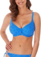Blauwe Freya Gehaakt Padded Beugel Bikini top, volledig gevoerd, verstelbare bandjes SUNDANCE Dames Bikinitopje 80E