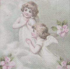 Sagen Vintage Design Sagen Vintage - servetten - 33 x 33 - lunch servetten - Flower Fairies