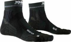 X-socks Hardloopsokken Marathon Nylon Zwart Maat 45/47