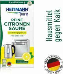 HEITMANN pure Ontkalker- Natuurvriendelijk Citroenzuur Poeder - Kalkreiniger voor een Hygiënische Reiniging - 350 g