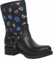 Zwarte BiggDesign - Dames Laarzen - Dameschoenen - Regenlaarzen - Maat 37