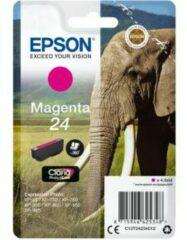 Epson Singlepack Magenta 24 Claria Photo HD Ink (C13T24234010)