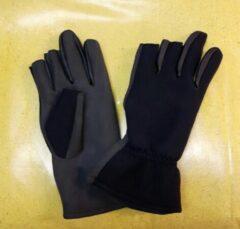 Zwarte HCN neopreen handschoenen 2 vingers maat XL
