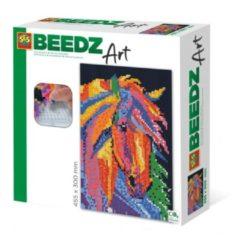 SES Creative Beedz Art Strijkkralen Paard Fantasie 45.5x30 cm 7000 Stuks