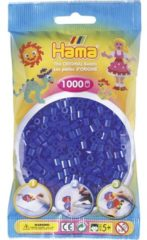 Blauwe Hama Strijkkralen 1000 Stuks Blauw Neon