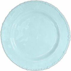 Baci Milano Joke Table & Kitchen kunststof ontbijt / dessert borden (6 stuks) D23cm - blauw
