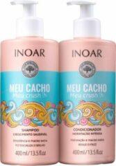 Inoar Keratine Inoar Meu Cacho Shampoo & Conditioner 400 ML