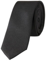 Zwarte Selected Homme Stropdas van zijde in uni