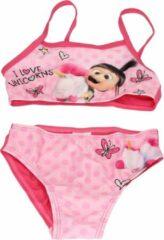 Roze Minions Bikini voor Meisjes - Maat 92/98   Zwemkleding voor Kinderen