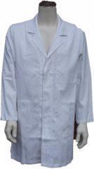 KM workwear EM Workwear Stofjas 100% katoen wit maat 140