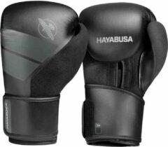 Hayabusa S4 Bokshandschoenen - Zwart - 16 oz - met gratis zwarte Handwraps