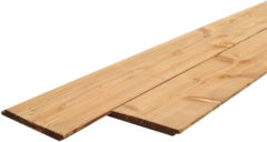 Woodvision Sponningplank Douglas | 18 x 195 mm | Geïmpregneerd | Sc. 300 cm