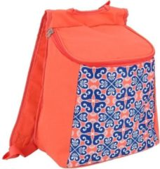 Gerimport Koeltas 30 X 34 Cm 12 Liter Polyester Blauw/rood