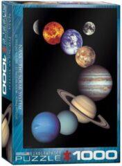 Eurograph Puzzel 1000 stukjes-NASA - The solar system