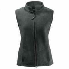 Mufflon - Women´s Vita - Merino bodywarmers maat L zwart/grijs