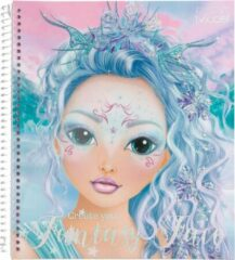 TOPModel Top Model - Create Your Fantasy Face Colouring Book (0411240) /Arts and Crafts
