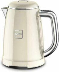 Creme witte Novis KTC1 - Elektrische Waterkoker - Temperatuur instelbaar - 1,6l - Creme