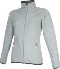 Grijze Tenson Malin Fleece Sportjas - Maat XL - Vrouwen - grijs
