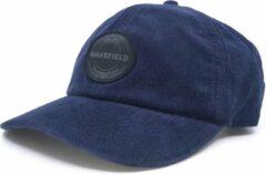 Cord pet Blauw - Baseball Caps - Blauwe Rib Cap - Wakefield Petten