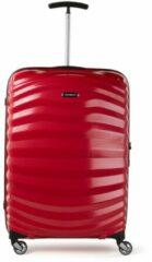Roze Samsonite Lite Shock spinner 69 cm