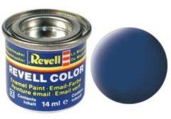 Emaille kleur Revell Blauw (mat) 56 Doos 14 ml