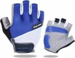 NoraSol Fietshandschoen Heren - Fietshandschoen Dames - Fietshandschoen Unisex - met grip blauw L, MTB, ATB, Race, Handschoen