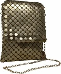 Jessidress Gala Handtasje met ketting schouderband - Goud