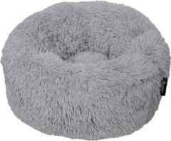 District 70 FUZZ Comfortabele en Zachte hondenmand - Licht Grijs - Medium 60 x 60 x 20 cm