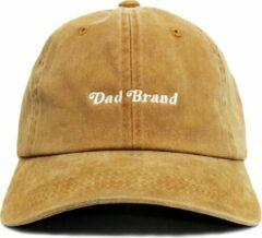 Dad Brand Pet GOLD - Premium Baseball Cap - Goud - One-Size Dad Pet Heren