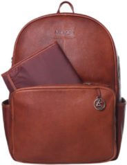 Mozz Bags MOZZ Luiertas Rugzak Beautiful Backpack - Cognac