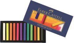 Faber-Castell Faber Castell FC-128312 Pastelkrijt Creative Studio Softpastel 12 Delig Etui