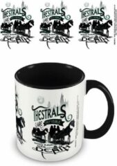 Witte HARRY POTTER - Coloured Inner Mug - Thestrals Black