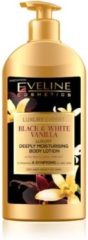 Eveline Cosmetics Luxury Expert Black & White Vanilla Deeply Moisturising Body Lotion 350ml.