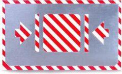 BVG Sjabloon | Zijwaarts optillen toegestaan | Aluminium | 100mm