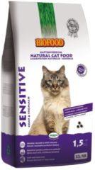 Biofood Ncf Sensitive Coat&Stomach - Kattenvoer - 1.5 kg - Kattenvoer