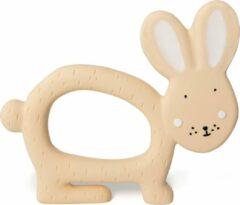 Roze Trixie natuurrubber grijpspeelgoed   Mrs. Rabbit   Natural Rubber Grasping Toy   Bijtring   Speelgoed