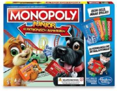 Hasbro Gaming Monopoly Junior electronisch bankieren kinderspel