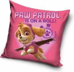 Paw Patrol Skye kussen – sierkussen | gevuld 38x38cm