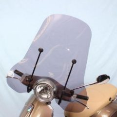Windscherm Vespa Primavera smoke hoog model-Scoot Care Original.