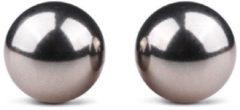 Easytoys Fetish Collection Easytoys Ben Wa Ballen 19 mm - Eenvoudig te reinigen - Te gebruiken met elk glijmiddel - Zilver