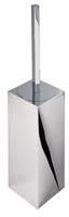 Geesa Toiletborstelhouder, wandmodel, zwarte borstel Modern Art
