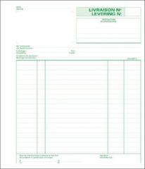 """Zelfkopiërend doorschrijfboek Exacompta """"leveringsbon"""" 210 x 180 mm 50-2"""