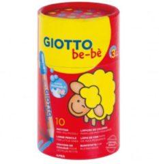 Giocattolo Giotto Be-bè barattolo matitoni 10 pezzi Fila