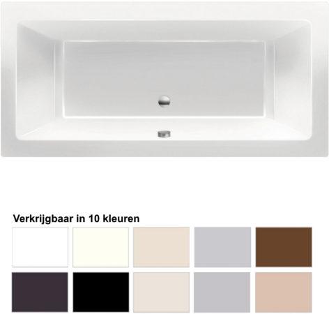 Afbeelding van Beterbad Xenz Ligbad Xenz Society 190x80x50 cm Inbouw Acryl (Verkrijgbaar in 10 kleuren)