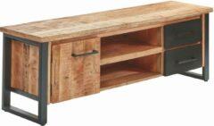 Bruine BELFURNID Belfurn - San remo - Tv kast in mango hout