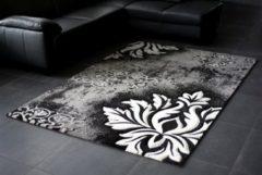 Grijze Karpetexpert.nl Vloerkleed Brilliance 657-950 Grey-200 x 290 cm