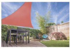 Oranje Pro Garden schaduwdoek driehoek terra (5m)