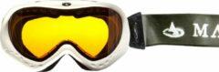 Maupiti Skibril Raft Polyamide/foam Wit/oranje/zwart