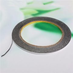 Meco 2mmX 10m Double Sided Adhesive Black Tape Sticker for Cell Phone